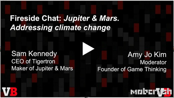 Jupiter & Mars is a VR game about exploring and saving the world's oceans long after humans leave Earth. We dived into this onstage at out GamesBeat Summit with Tigertron CEO Sam Kennedy.