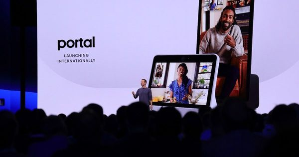 Facebook Portal will be available outside the US this fall