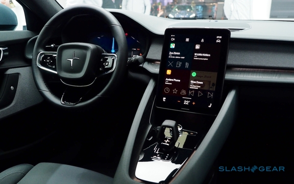 Google and Polestar give apps the keys to the Android dashboard