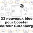 Addons Gutenberg : ajoutez 133 nouveaux blocs à l'éditeur de WordPress