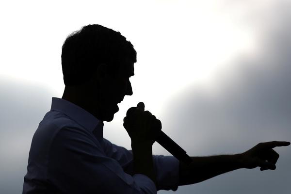 De Democratische presidentskandidaat Beto O'Rourke (foto: Reuters)