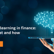 Machine learning in finance: The why, what and how