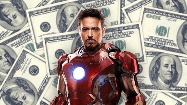 Robert Downey Jr. harkt gigantische bedragen binnen met Avengers films