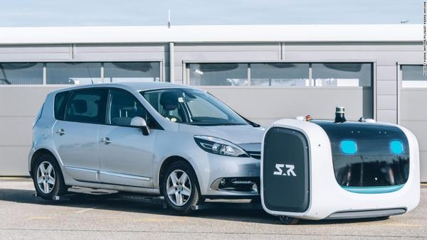 This robot named Stan can park your car at the airport - CNN Video