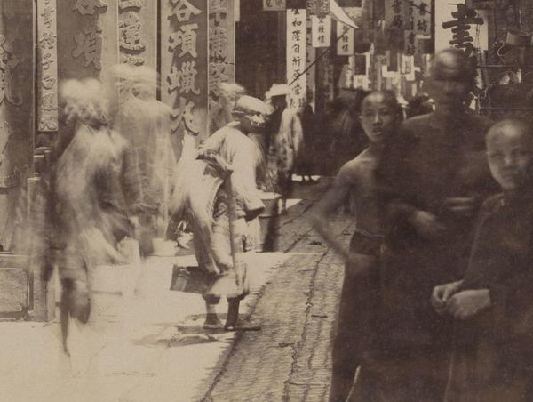 Kanton, China, 19e eeuw.