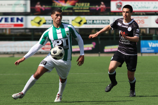 Achilles Veen laat winst nog glippen tegen Jong FC Den Bosch