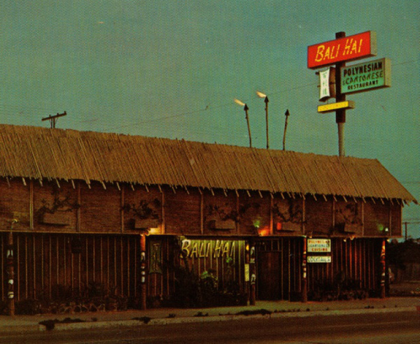 How Chinese Restaurants Shaped Tiki Culture In LA: LAist