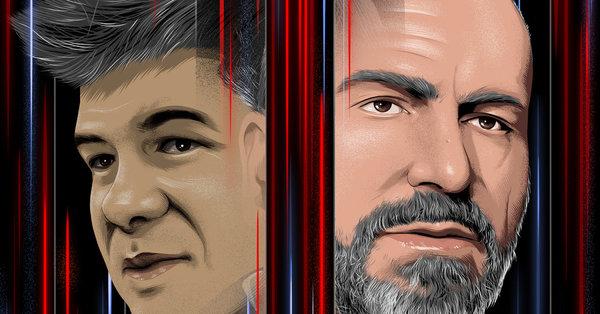 With Uber's I.P.O., Dara Khosrowshahi Is Taking Travis Kalanick's Company Public