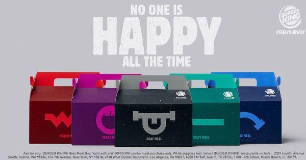 Burger King macht jetzt Werbung mit Depressionen