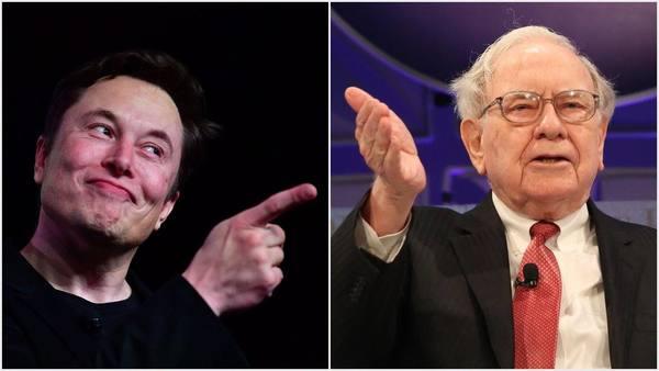 Elon Musk, Warren Buffett Spar After Berkshire Billionaire Disses Tesla