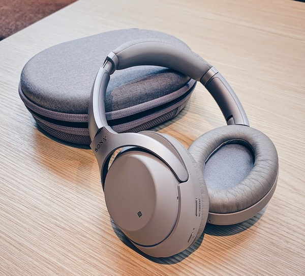 I love my AirPods but THESE, Sony WH1000XM3 Noise Cancelling Headphones, are the best things I've bought, I don't even play music in them - just peace and quiet.