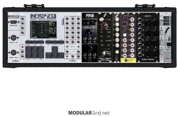 moonRig mk1 (in tiptop Happy Ending) - Eurorack Modular System from rmblrx on ModularGrid