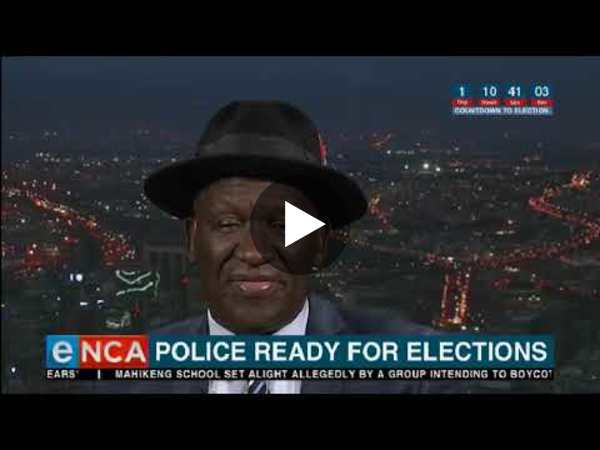 Police ready for elections