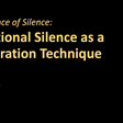 The Science of Silence: Intentional Silence as a Moderation Technique