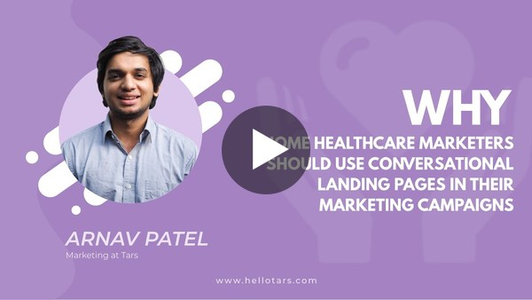 Why Home Healthcare Marketers Should Use Conversational Landing Pages in their Marketing Campaigns