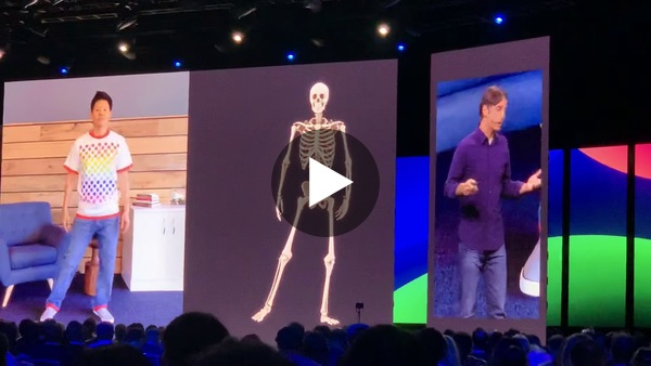 At F8 last week, Facebook showed how it's working on capturing movement in VR.