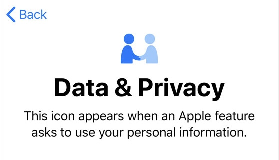 """Still the best """"privacy"""" icon, showing trust is at the core of privacy."""