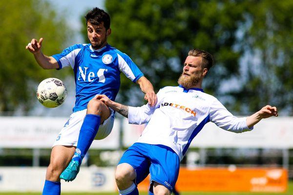De late 1-1 tegen Schelluinen hield Ameide nog enigszins in het nacompetitiespoor. Klik op de foto (Rick den Besten) voor het verslag.