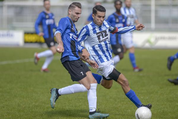 Schoonhoven heeft zich in de nesten gewerkt door een 1-4 nederlaag tegen VVOR. Klik op de foto (John Wijntjes) voor het verslag.