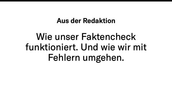 Wie ein Faktencheck bei dem schweizerischen Journalismus-Startup Republik abläuft