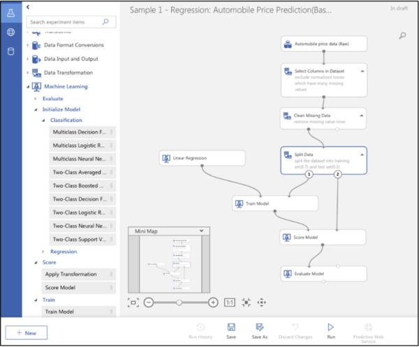 Microsoft'un hafta içinde tanıttığı yeni AML arayüzünden bir görüntü