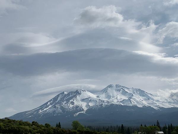 Mt Shasta by Kathy's Mom