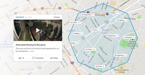 Fear-based social media Nextdoor, Citizen, Amazon's Neighbors is getting more popular