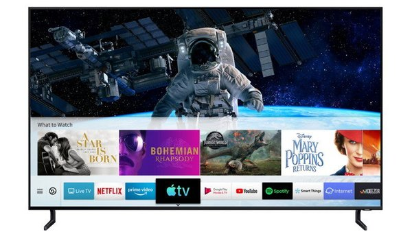 Apple TV App and AirPlay 2 rolling out to all 2019 Samsung Smart TVs