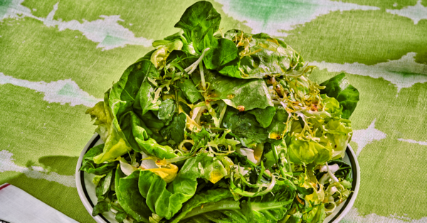 The Best Green Salad in the World - The New York Times
