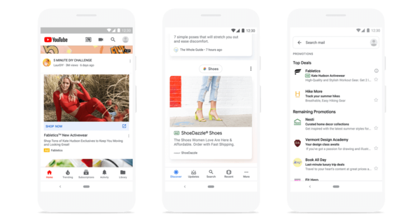 New native Discovery ad campaigns from Google monetize Discover feed for first time