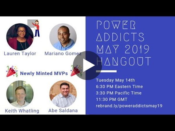 PowerAddicts Hangout May 2019
