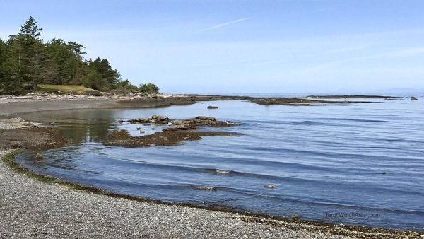 Small Bay in Helliwell Provincial Park