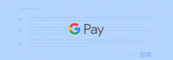 Google Payment Privacy Settings Hidden Behind Special URL