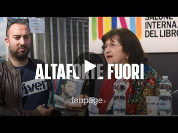 """La sopravvissuta all'Olocausto contro Altaforte: """"Non potevo stare vicino ai fascisti"""""""