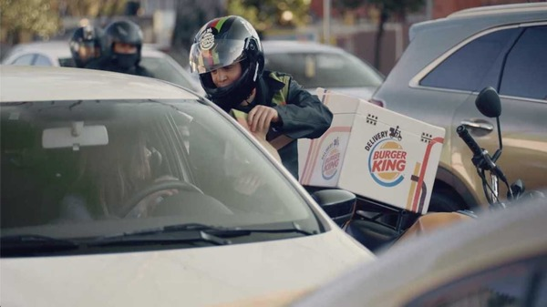 Burger King Wheels Whoppers to LA Drivers Stuck in Traffic, Begins Impossible Roll Out