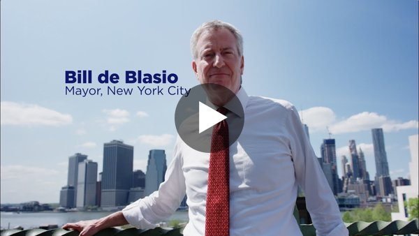 Working People First   Bill de Blasio 2020