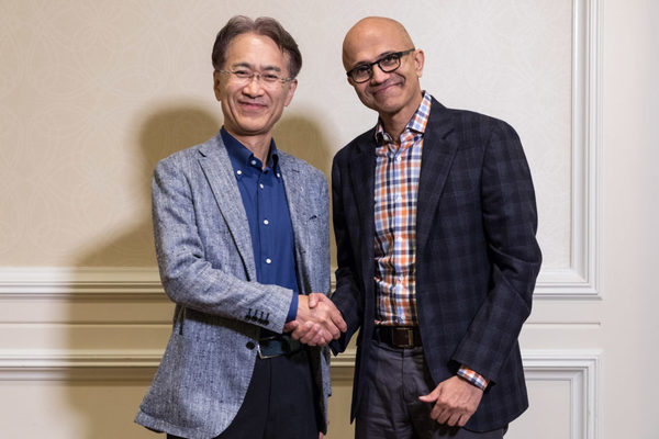 "Microsoft and Sony vow to ""explore"" ways to collaborate on cloud gaming and AI in new partnership"