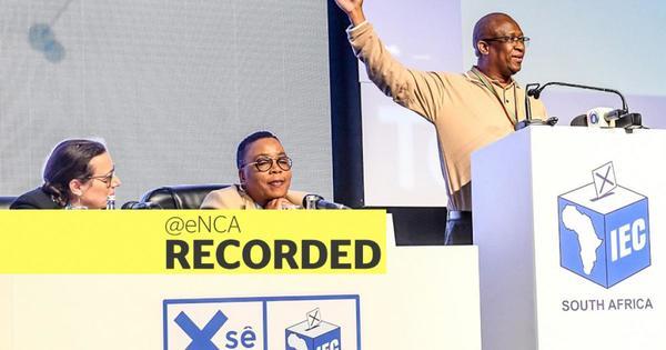 WATCH: IEC announces Election 2019 results | eNCA