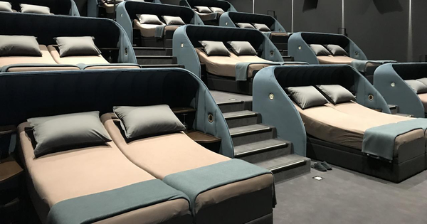 This Swiss Cinema Replaced All Of Their Seats With Double Beds | Bored Panda