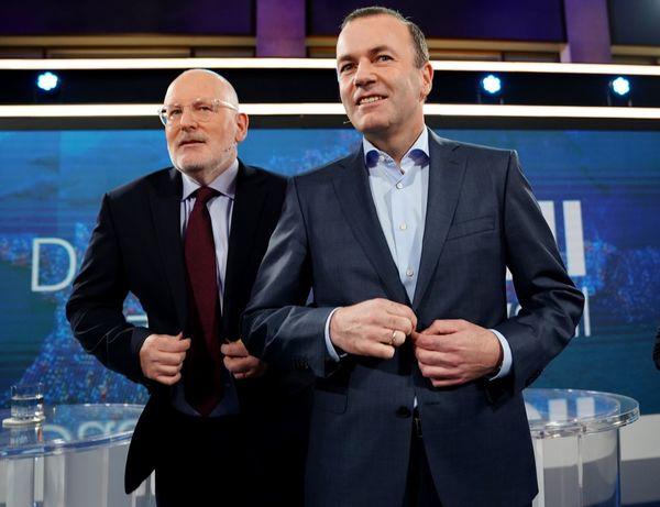 Timmermans en Weber zijn klaar voor het debat
