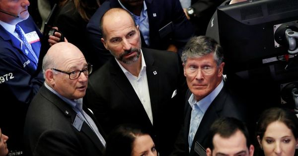 BlackRock, Other Big Investors Spoil Uber's Coming-Out Party