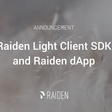 Public project launch: Raiden Light Client SDK and dApp