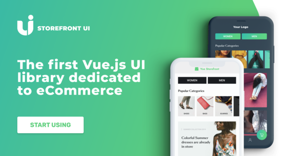 Vue.js based and customization-first UI library. The one of its kind.