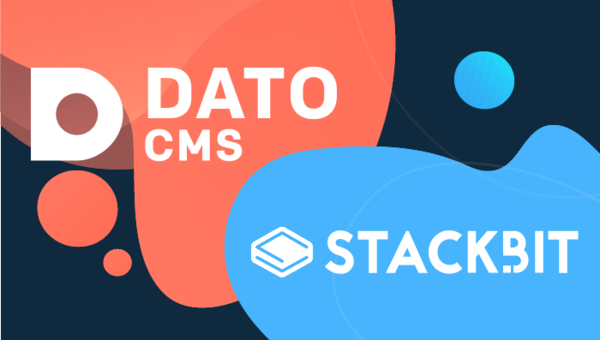 Create modern sites in minutes, now supporting DatoCMS | Stackbit