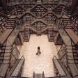 Incredible Optical Illusion Bookstore Looks Like a Real-Life M.C. Escher Painting