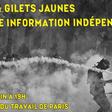 6 juin à Paris - Médias et gilets jaunes : pour une information indépendante !