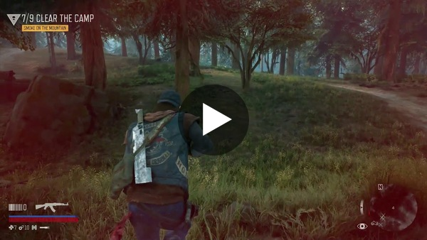 Dean Takahashi of GamesBeat plays Days Gone. This video shows combat in the early part of the game. It's a world that is trying to kill you, as you can see with battles with Freakers, marauders, and wolves.