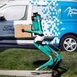 Ford's Way to Finish Driverless Deliveries: Package-Carrying Robots