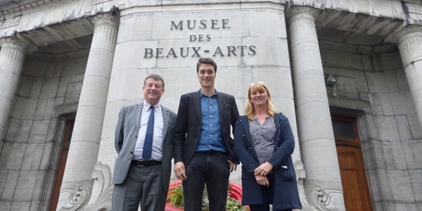 Julien Foucart nouveau conservateur du musée des Beaux-Arts Tournai - Julien Foucart nieuwe directeur museum voor schone kunsten in Doornik