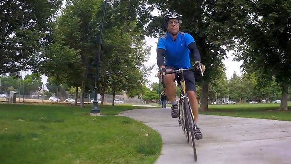 He rode his bike to work, through the mean streets of Fresno, and lived to tell the tale   The Fresno Bee